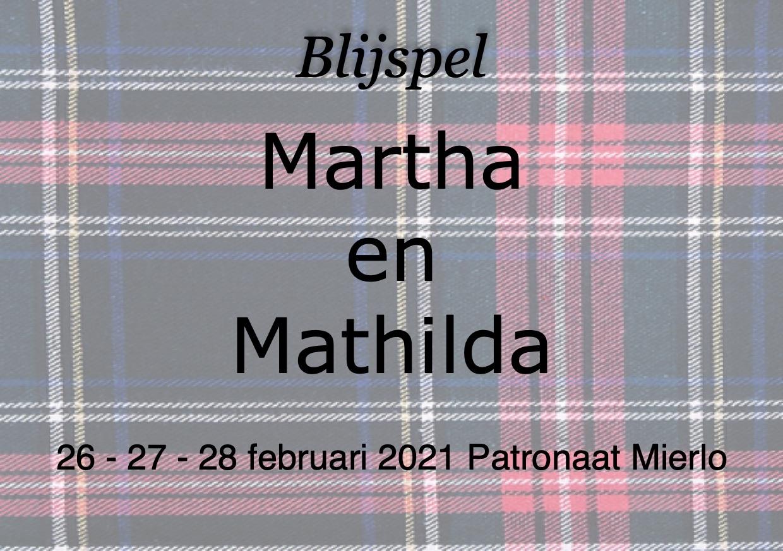 Martha en Mathilda: nieuwe datum
