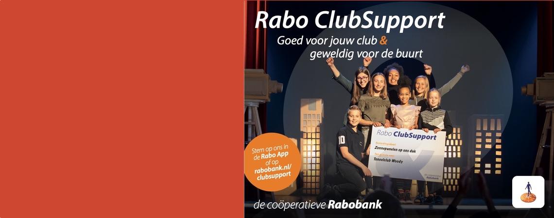 Steun ons via Rabo ClubSupport!