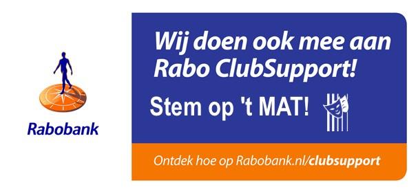 Rabo ClubSupport: stem op 't MAT!